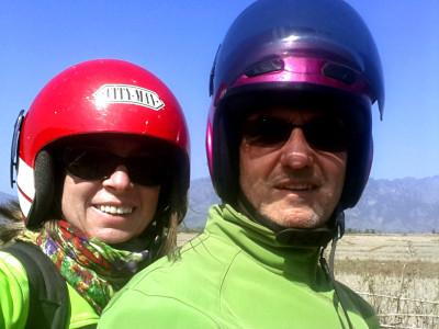 Birgitt Sinnwell und Adolf Stoll auf der Laos-Tour 2014